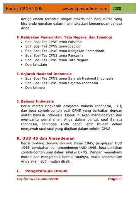 A short summary of this paper. Contoh Soal Pengetahuan Umum Untuk Cpns - Barisan Contoh