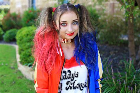 harley quinn pigtails cute girls hairstyles