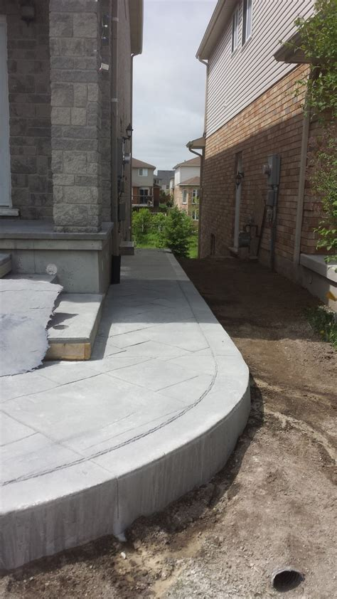 side house stairs  patio solid concrete solutions