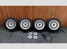 BMW E30 ORIGINAL 15 inch BBS Alloy Wheels 4 X 100 in