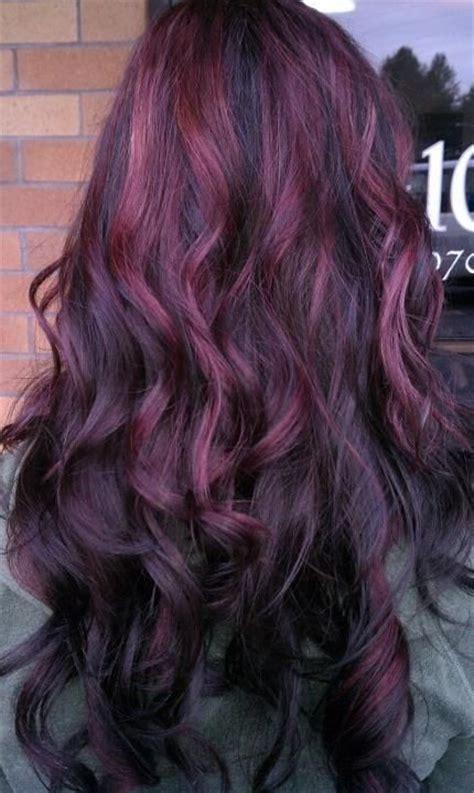 purple highlights  summer pretty designs