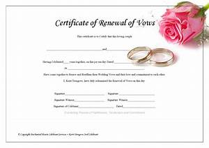25 images of vow renewal certificate template crazybikernet With vow renewal certificate template