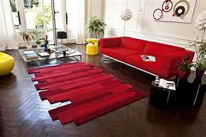 tapis rouge design photo 1 10 vous cherchez un tapis With tapis design et originaux