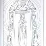 Franciscan sketch template