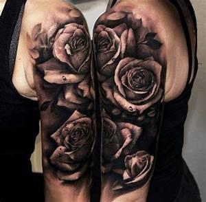 Tattoo Schwarz Weiß : die besten 25 schwarz wei tattoos ideen auf pinterest tiertattoos blattabbildung und ~ Frokenaadalensverden.com Haus und Dekorationen