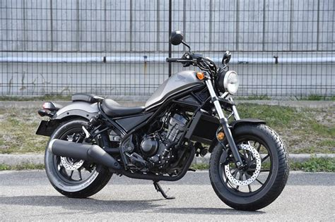 Honda Rebel 250 And Rebel 500 Launched