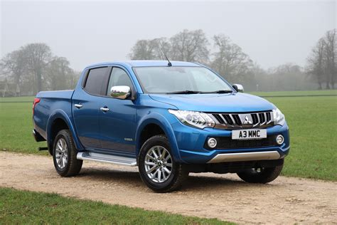 Mitsubishi T120ss Picture by Mitsubishi L200 Up Gains Tech Upgrades And 3 5 Tonne