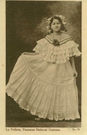 Pollera Panama Traditional Dress