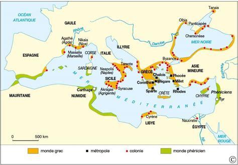 Carte Vierge Du Monde Des Cités Grecques aux fondements de la gr 232 ce