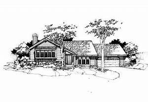 Northwest Style House Plans - 2435 Square Foot Home ...