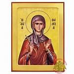 Orthodox Nioras Icon Byzantine Wooden Icons