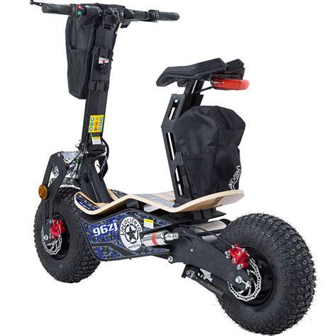 e scooter motor big wheel electric scooter 1600 watt motor 48 volt battery seat mt mad 1600 blue ebay