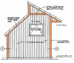 8 U00d712 Clerestory Shed Plans  U0026 Blueprints For Storage Shed