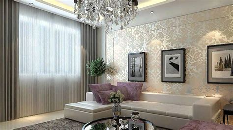 Grey And Purple Living Room Wallpaper by Living Room Living Room Ceiling Lighting With European