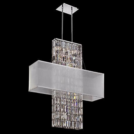 strands for chandeliers danube strands 33 quot wide pendant chandelier
