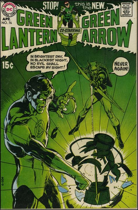 ink neal green lantern green arrow