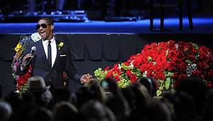 Usher and Tito Jackson Photos Photos - Memorial Service ...