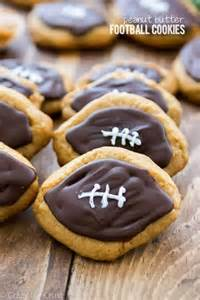 Peanut Butter Football Cookies