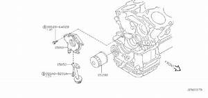 Infiniti I35 Engine Oil Pump Pickup Tube  System