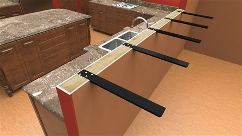 countertop supports and brackets standard plus