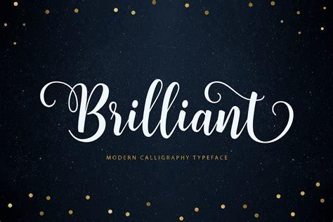 Brilliant Script | Stunning Script Fonts ~ Creative Market