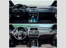 2018 Jaguar EPace vs BMW X1 Photo Comparison Clash of