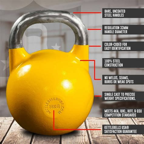 competition kettlebell kettlebells paradigm pro lifting classic