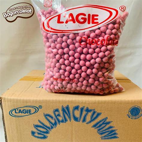 coklat lagie miniball pink karton isi kg bogor coklat