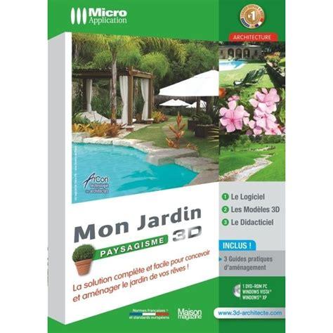 Mon Jardin Paysagisme 3d  Logiciel Pc Dvdrom  Prix Pas