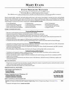 Conference manager resume conference manager resume for Events manager job description template