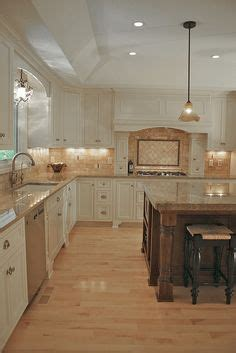 beautiful kitchen backsplash white cabinets neutral greige wall color and 1547