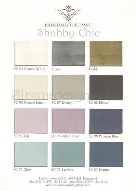 shabby chic colors mmmmm for the home