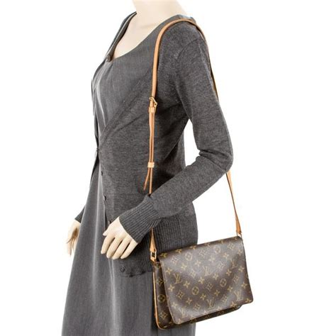 louis vuitton musette tango long strap authentic pre owned  luxedh