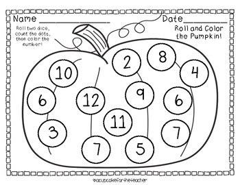 november roll and color free printables by a cupcake for