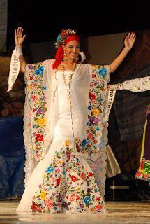 1000+ images about Vestidos típicos mexicanos on Pinterest