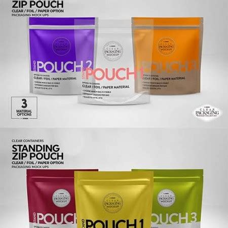 In this adobe photoshop file you can create your own fully customizable packaging project where you can display your own brand. GFX Kraft Stand-Up Pouch Mockup 34801 TIF | photoshop blog