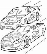 Coloring Pages Race Printable sketch template