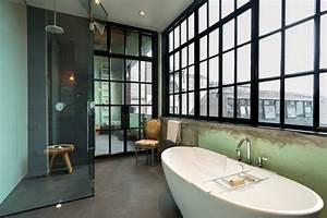 Salle De Bain Loft : urban loft industriel salle de bain seattle par ~ Dailycaller-alerts.com Idées de Décoration