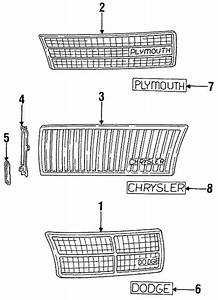 Chrysler Town And Country Body Parts Diagram