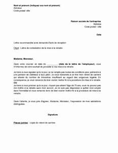 Lettre Officier Ministere Public Contestation : lettre de contestation de la mise la retraite par le salari mod le de lettre gratuit ~ Medecine-chirurgie-esthetiques.com Avis de Voitures
