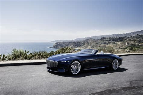 Maybach Concept mercedes maybach 6 cabriolet concept shows future of