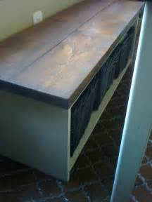 Kitchen Table with Storage Bench