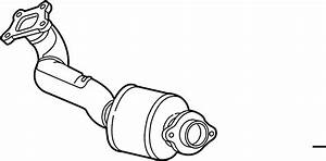 Cadillac Cts Catalytic Converter  Front