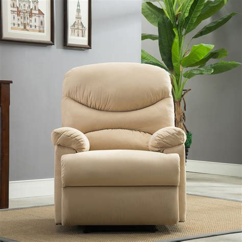 plush recliner livingroom reclining chair cave tv
