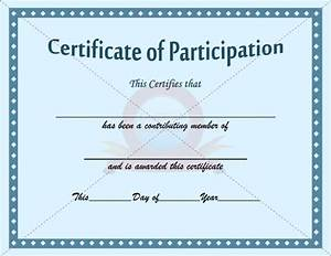best 25 certificate of participation template ideas on With free participation certificate templates for word
