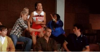 Glee Angry Fight Santana Gifs Giphy Everything
