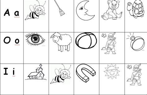 dibujos para colorear que inicien con la vocal i imagui escritorio vocales para colorear