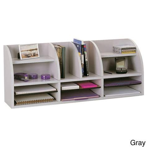 desk organizer for women safco radius front desktop organizer 9 75 39 x 38 5 39 x 15 25 39