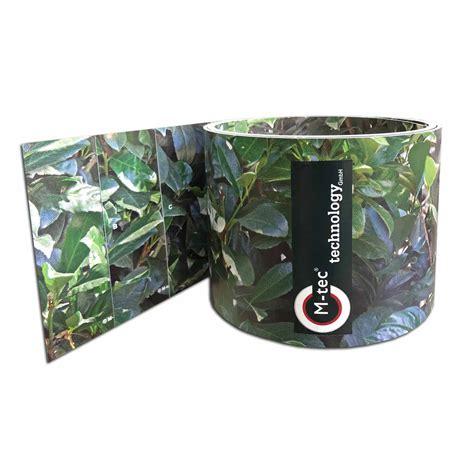 Hart Pvc Streifen by Hart Pvc Motiv Streifen Kirschlorbeer Sichtschutz Shop