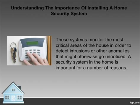the importance of alarms why a home security system is important